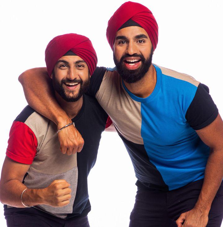 'The Amazing Race Australia' contestants Jaskirat Dhingra (left) and Anurag Sobti