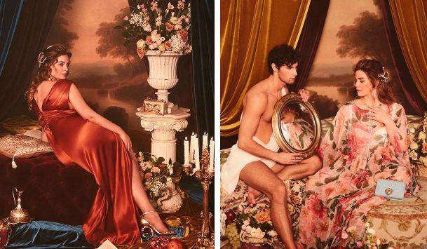 """""""Come in un quadro di Rubens"""": Vanessa Incontrada nuova musa curvy di Dolce e Gabbana"""