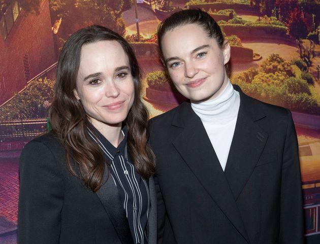 Ellen Page e Emma Portner nel giugno