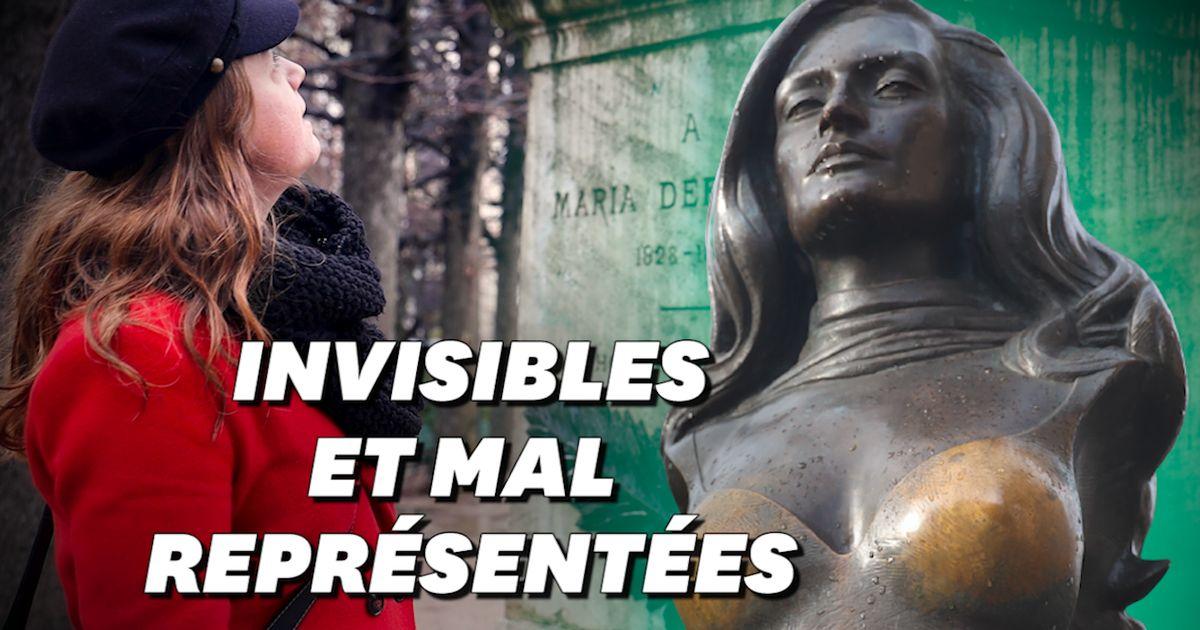 À Paris, les statues de femmes sont rares, mais en plus elles sont problématiques