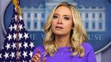 WASHINGTON, DC - DECEMBER 15: White House Press Secretary Kayleigh McEnany participates in a White House briefing at the James Brady Press Briefing Room of the White House December 15, 2020 in Washington, DC. The Electoral College has voted to affirm President-elect Joe Biden's victory in the 2020 presidential election. (Photo by Alex Wong/Getty Images)