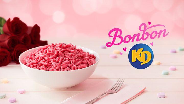 Kraft Dinner lance le nouveau Bonbon KD pour la Saint-Valentin