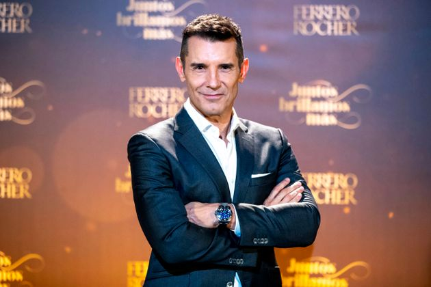 Jesús Vázquez en la presentación de campaña 'Ferrero Rocher: Juntos Brillamos' en noviembre de