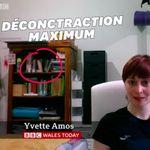 Cette invitée de la BBC avait une décoration classée X sur son