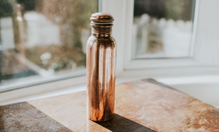 Getting an aesthetically-pleasing water bottle may push you to use it more.