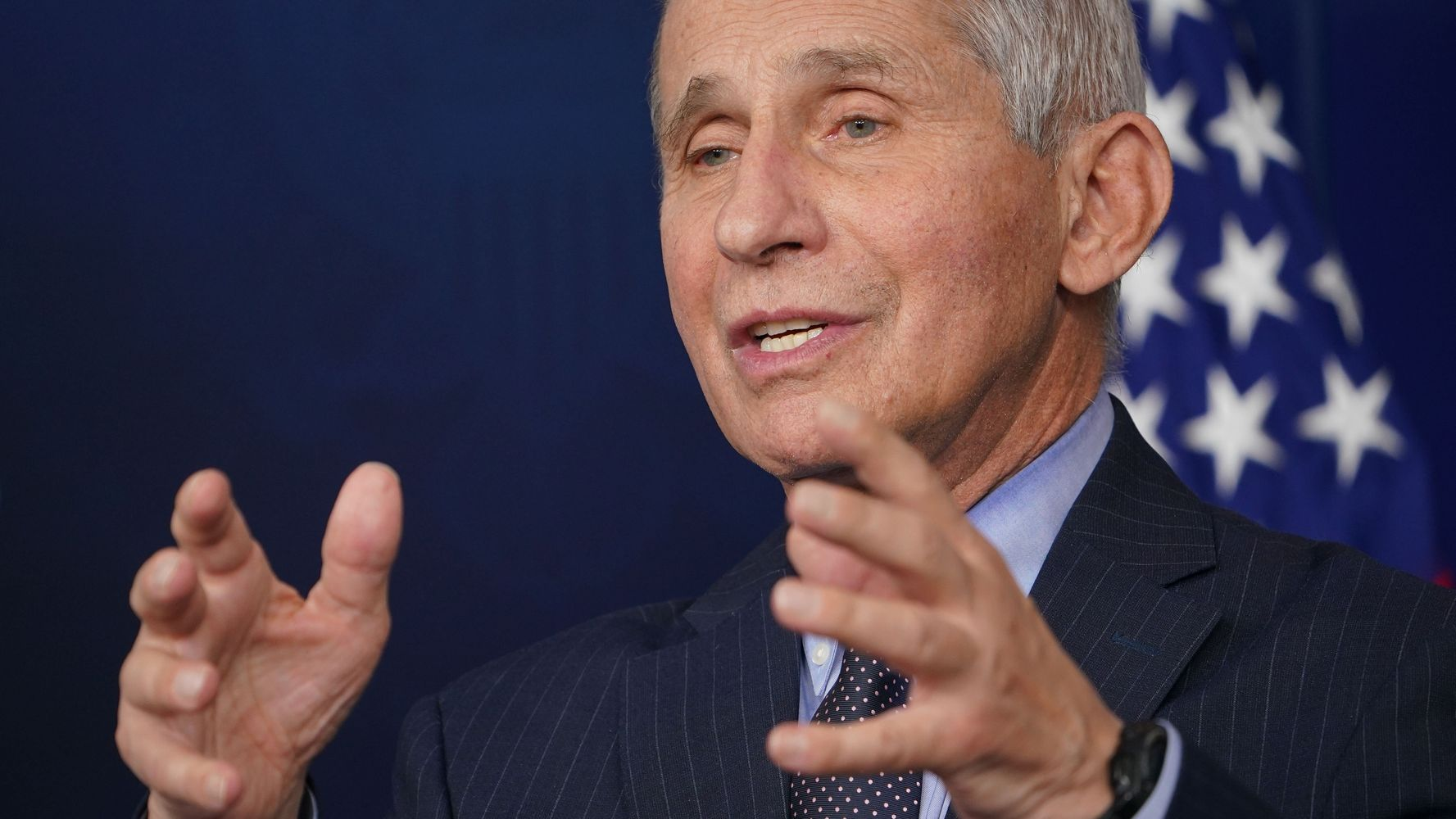 Fauci On Trump Team Using Him In Ad: 'What Is This Bulls**t That You People Are Doing?'