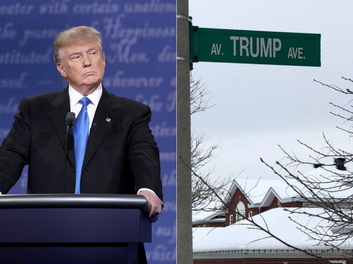 Ottawa residents on Trump Avenue may be due for a name change, following the U.S. inauguration last week.
