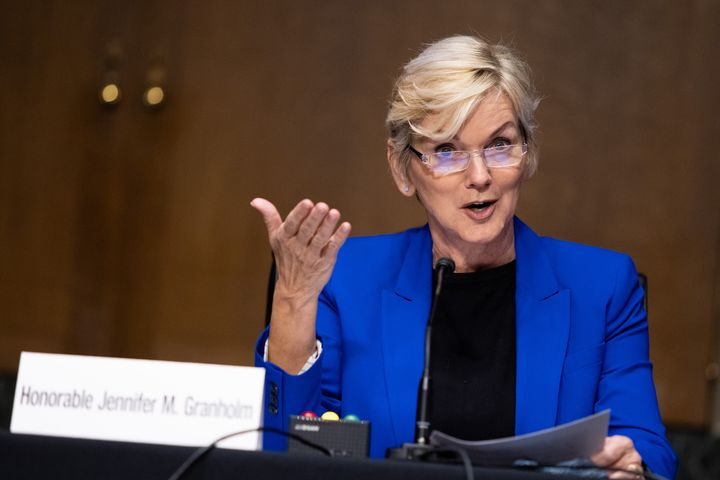 Jennifer Granholm, President Joe Biden's nominee for secretary of energy, testified at her confirmation hearing before the Se