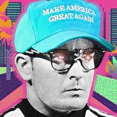 """Mackey used an avatar of Charlie Sheen's Ricky Vaughn character from """"Major League"""" as his avatar on Twitter."""