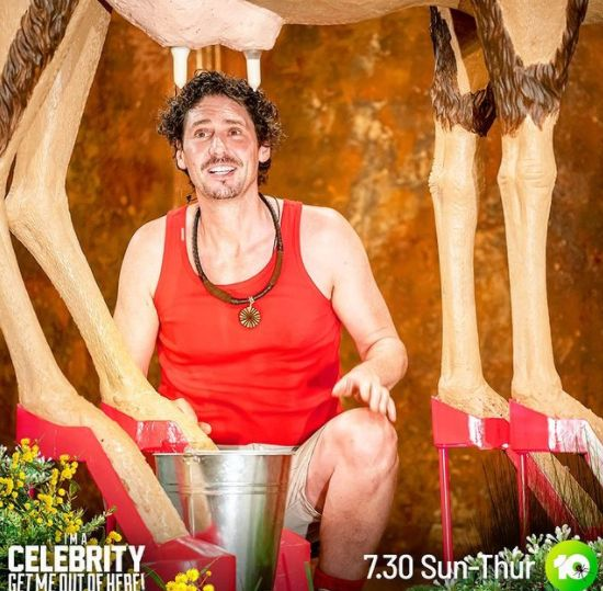 'I'm A Celebrity... Get Me Out Of Here!' contestant Colin