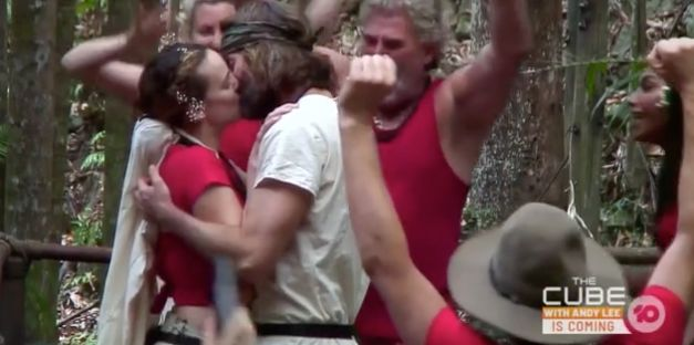 Abbie Chatfield and Ash Williams kiss on 'I'm A Celebrity... Get Me Out Of
