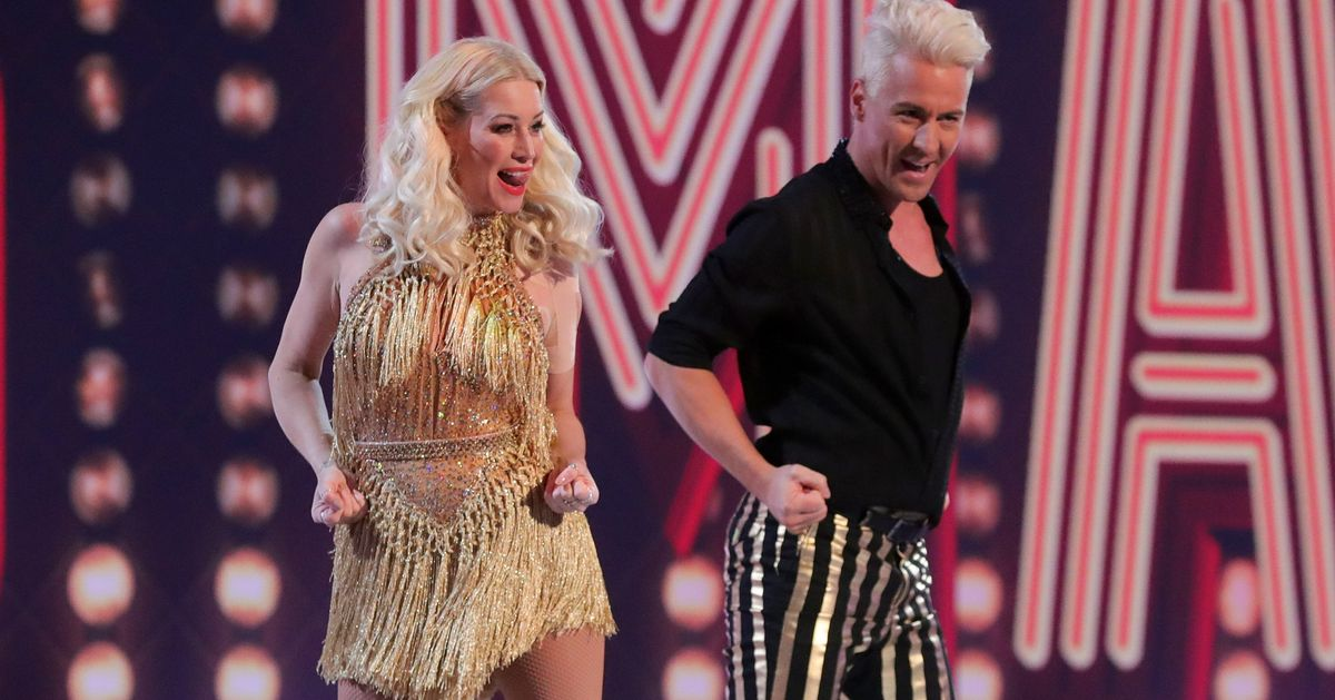 Denise Van Outen Says Agony Of First Dancing On Ice Performance Caused Her To Vomit