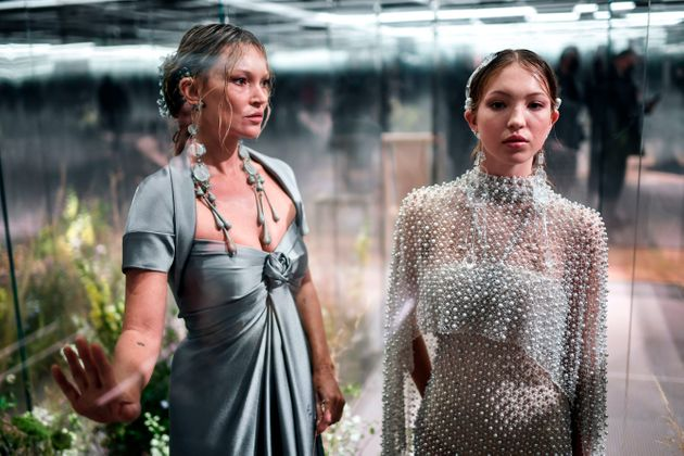 Kate Moss et sa fille, Lila