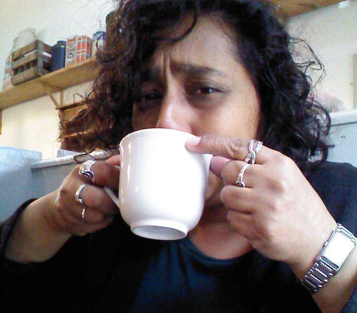One cup is all it takes...Elizabeth Balgobin.