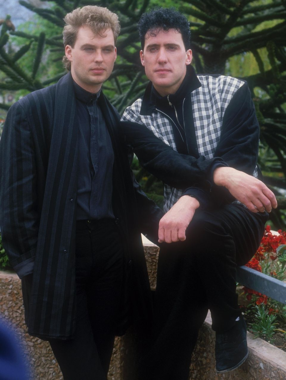 Andy McClusky (R), pictured with OMD bandmate Paul Humphreys, shot to fame in the early 80s before founding...