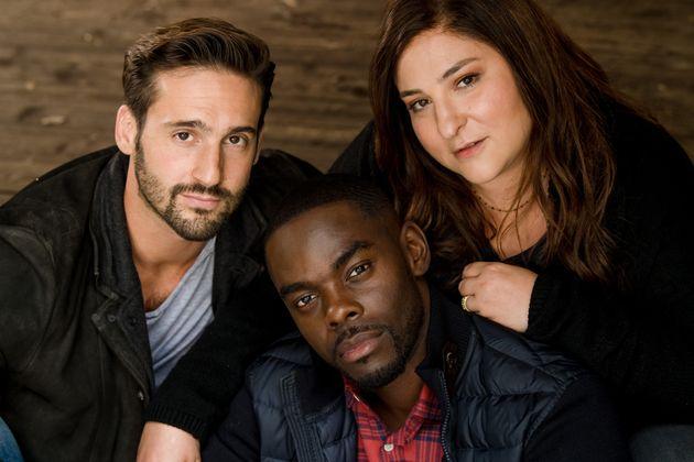 Guillaume Labbé (Michaël), Narcisse Mame (Mathis) et Marilou Berry (Maud) dans l'adaptation...