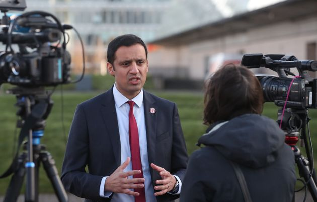 Anas Sarwar, favourite to win the Scottish Labour leadership
