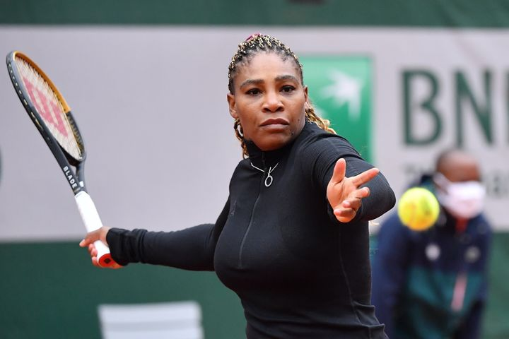 Serena Williams, pictured here in Paris last September, has spoken about one of her daily rituals while in Adelaide hotel quarantine ahead of the Australian Open.