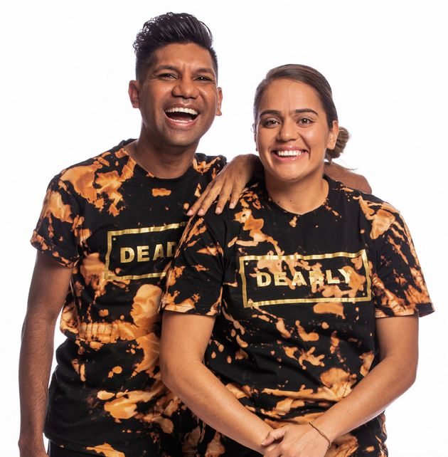 'The Amazing Race Australia' contestants Dwes Wiggan-Dann and Katherine