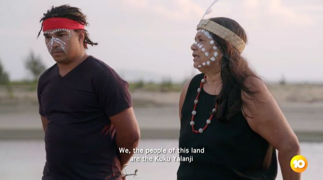 'The Amazing Race Australia' begins with a 'Welcome to Country' ceremony for the contestants offered by the Kuku Yalanji people from far north Queensland.