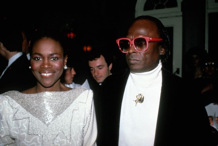 Cicely Tyson and Miles Davis in 1983 in New York City.