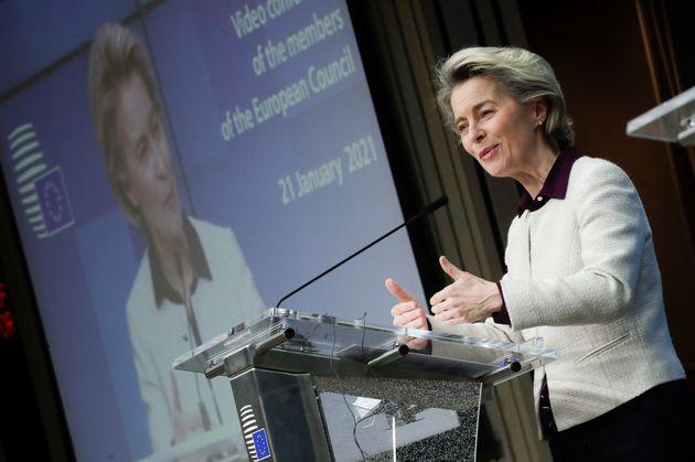 Το συμβόλαιο ΕΕ-AstraZeneca είναι ξεκάθαρο και δεσμευτικό, δηλώνει η πρόεδρος της