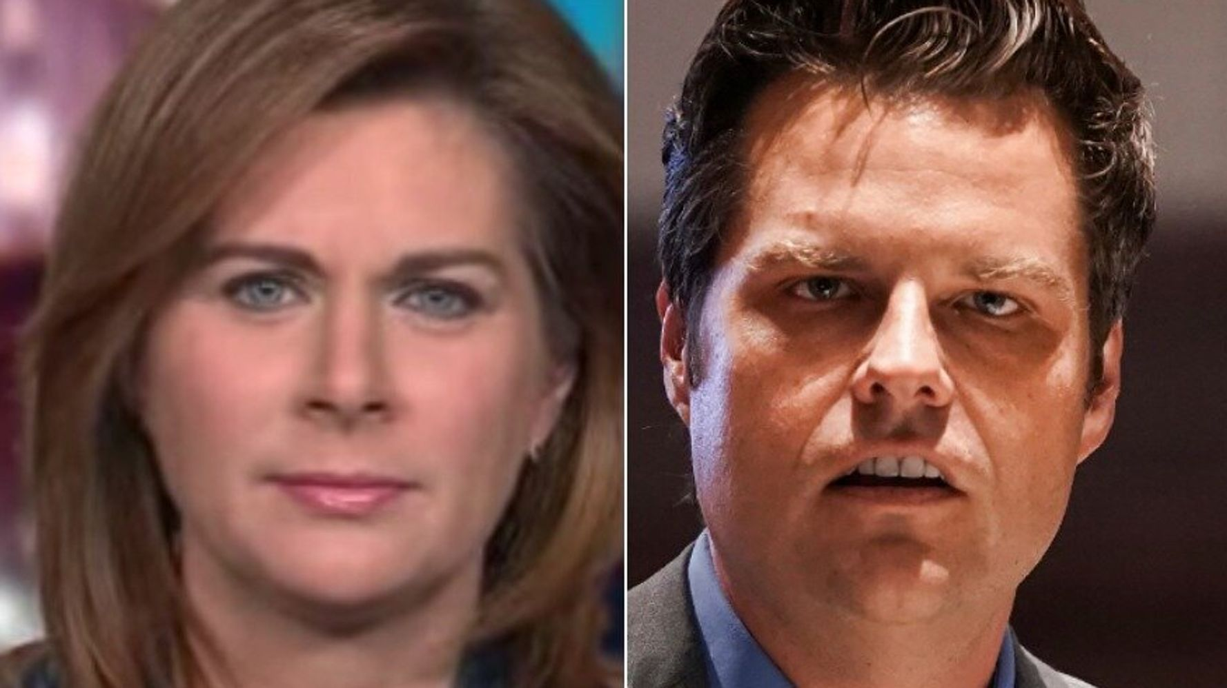 Erin Burnett Flips GOP Rep. Matt Gaetz's 'Cancel Culture' Whine Back On Him