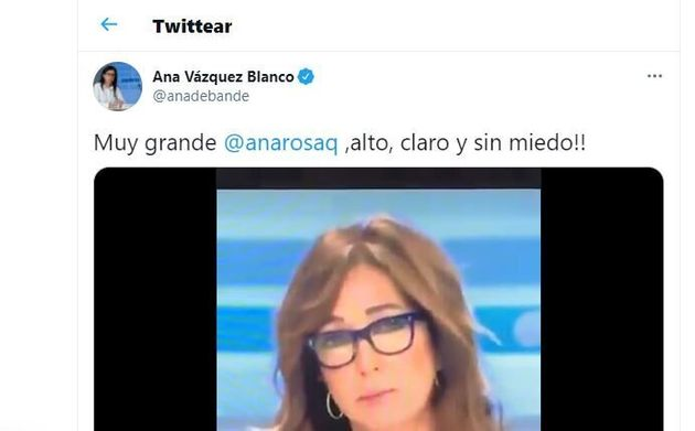 El tuit de Ana
