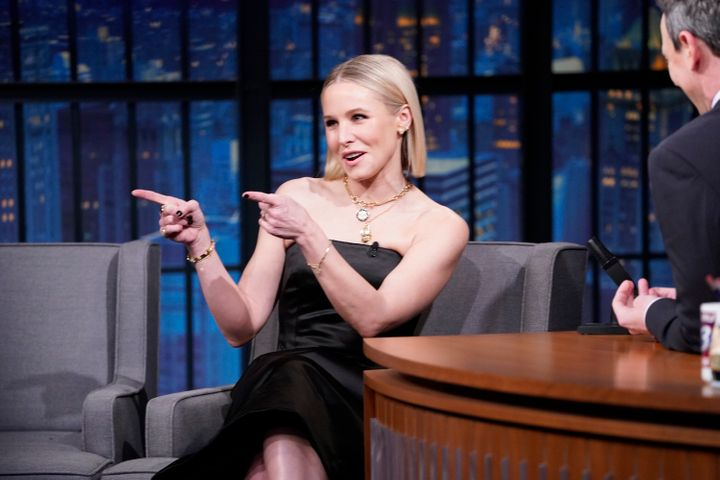 Kristen Bell spoke with HuffPost and