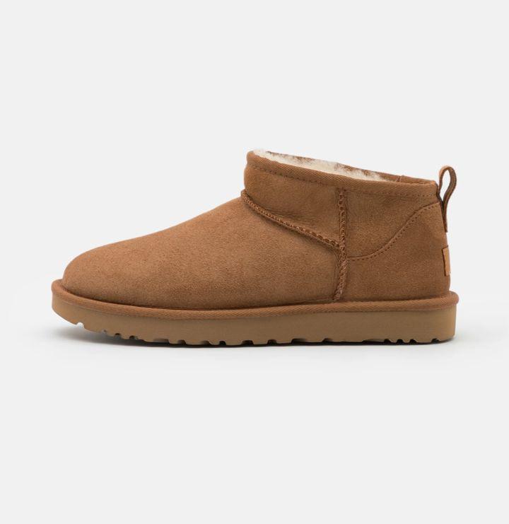 Las botas UGG mini.