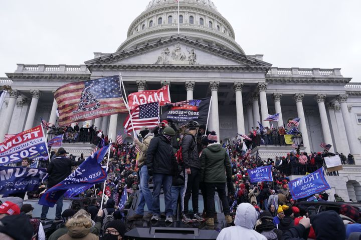 Pro-Trump crowds attacked the U.S. Capitol after then-President Donald Trump called on them to help stop the counting of elec