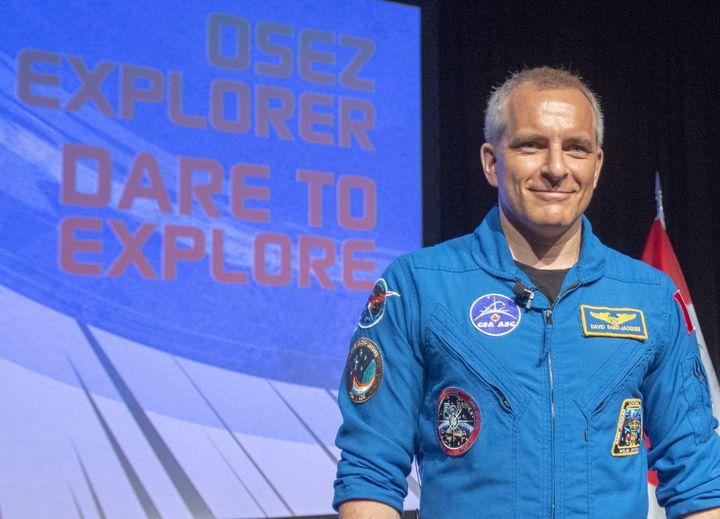 L'astronaute canadien David Saint-Jacques (photo d'archive)