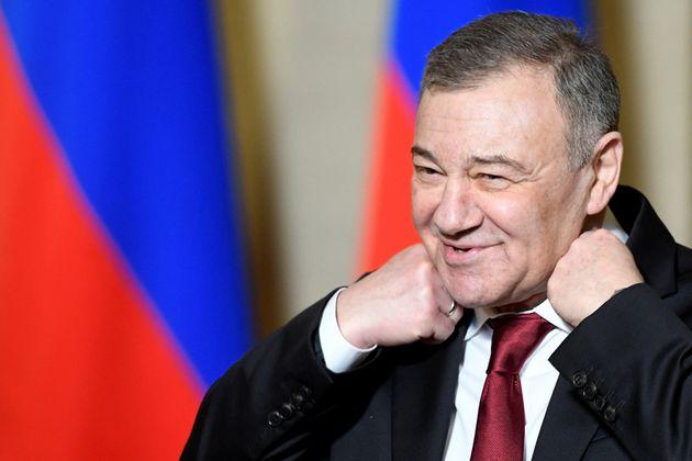 L'homme d'affaires russe Arkady Rotenberg en Crimée le 18 mars