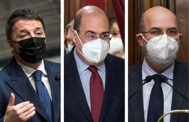 Renzi, Zingaretti,