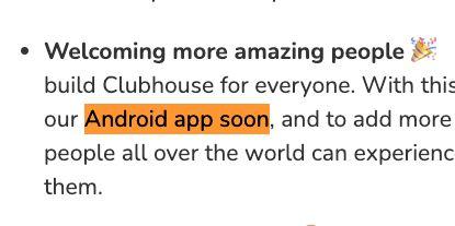 「Android版アプリに開発にも速やかに取り組む」そうです。(一部文言をハイライトしています)