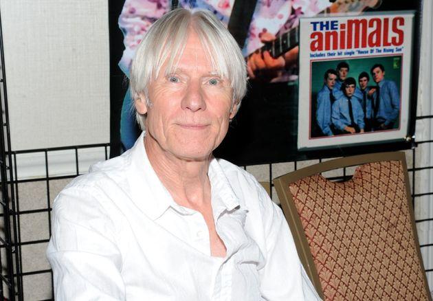 Le guitariste Hilton Valentine, ici en juillet 2010, est mort à l'âge de 77 ans le 29 janvier...