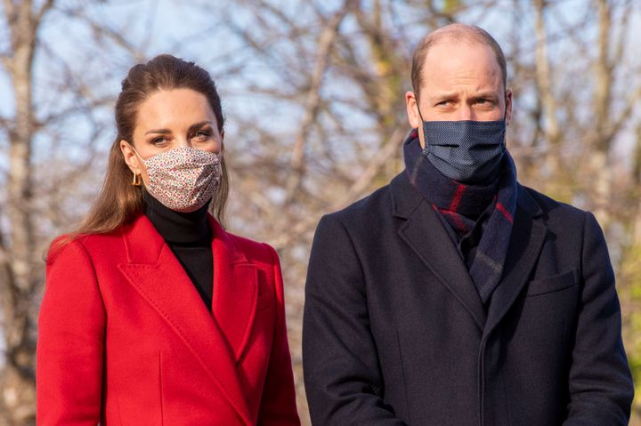 Prince William and Kate Middleton in Bath, England on Dec. 8.