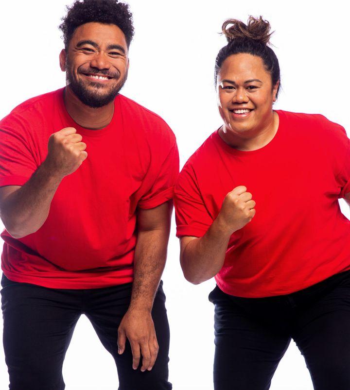 'The Amazing Race Australia' contestants Sefa Palu and Jess Matavao