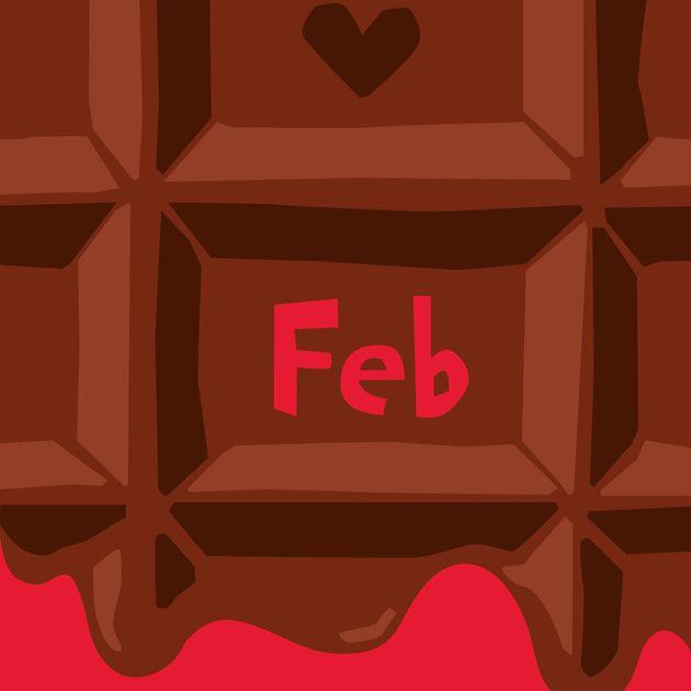 ハフライブカレンダー2月「チョコレートとSDGs」