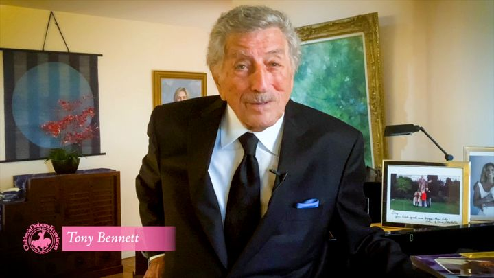 In this screengrab, Tony Bennett appears during the 2020 Carousel of Hope Ball benefiting the Children's Diabetes Found