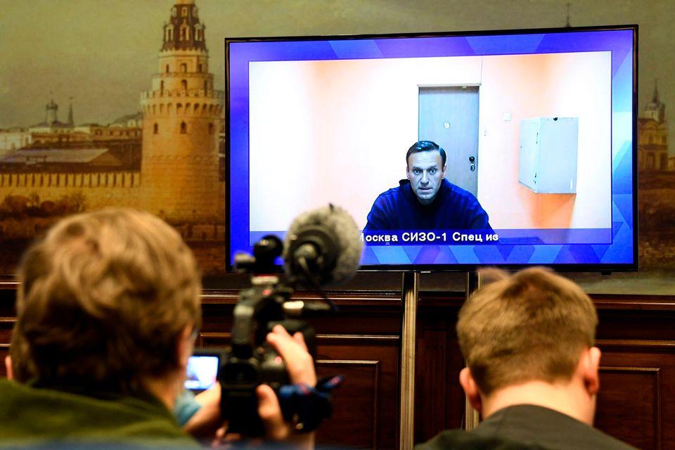 Alexei Navalny in