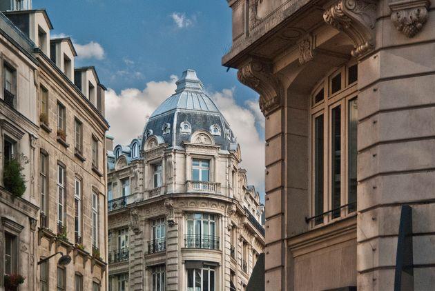 Des immeubles haussmanniens à Paris. (photo
