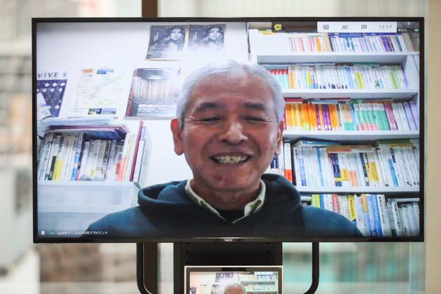 リモートワークでより健康的な生活になったと話す坂井さん