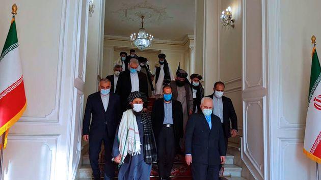 Αντιπροσωπεία των Ταλιμπάν...