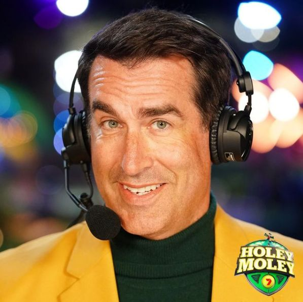 'Holey Moley' star Rob Riggle served in the US Marine Corps Reserve for 23 years.