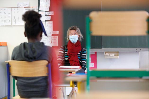 Comment le protocole sanitaire a été durci à l'école face aux variants (photo...
