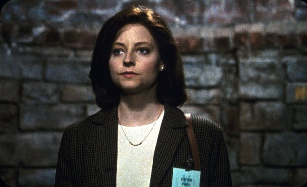 Jodie Foster as Clarice Starling in The Silence Of The