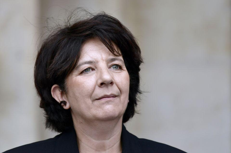 Photo de Frédérique Vidal après sa nomination à la tête du ministère de l'Enseignement Supérieur en mai 2017.