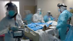 Coronavirus Pandemic's Deadliest Month In U.S. Ends With Signs Of