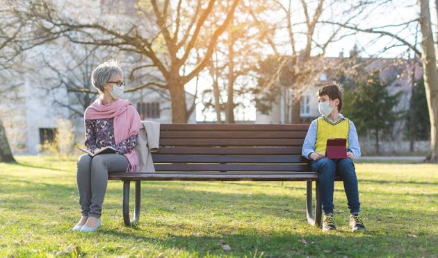 Our social lives are complicated and interdependent — social bubbles and physical distancing are...